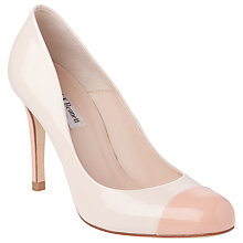 Buy L.K.Bennett Bruton Toe Cap Leather Court Shoes Online at johnlewis.com