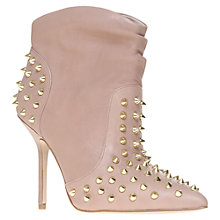 Buy KG by Kurt Geiger Wild Suede Studded Ankle Boots Online at johnlewis.com