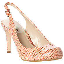 Buy Dune Chaste Patent Snakeskin Effect Court Shoes Online at johnlewis.com