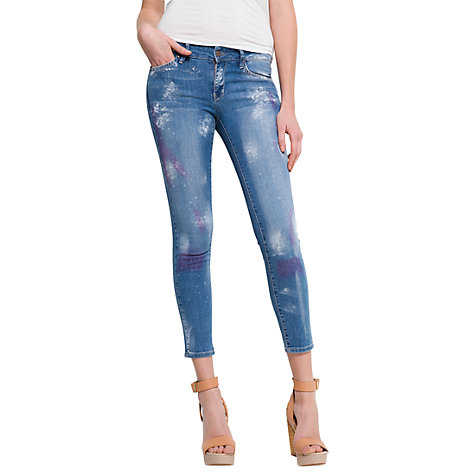 Buy Mango Super Slim Jeans, Dirty Online at johnlewis.com