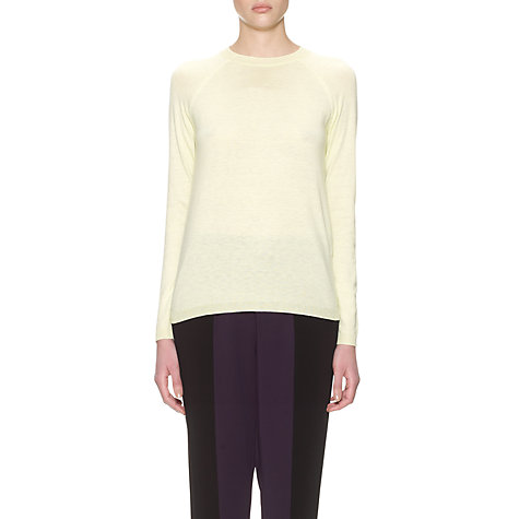 Buy Whistles Delphine Slim Crew Neck Jumper Online at johnlewis.com