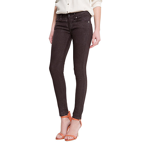 Buy Mango Glitter Dots Slim Jeans, Grey Online at johnlewis.com