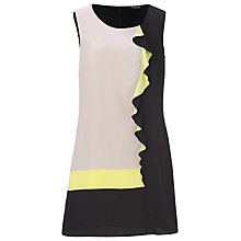 Buy Betty Barclay Side Frill Dress, Black/Yellow Online at johnlewis.com