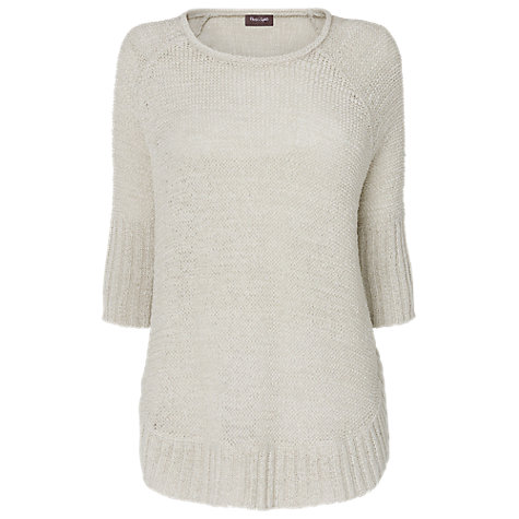 Buy Phase Eight Sienna Jumper, Pale Stone Online at johnlewis.com