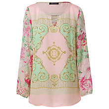 Buy Betty Barclay Scarf Print Tunic Top, Multi Online at johnlewis.com