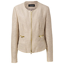 Buy Betty Barclay Zipped Jacket, Zabaione Online at johnlewis.com