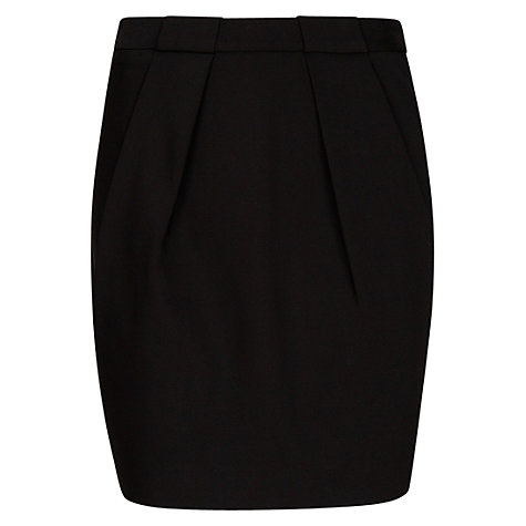 Buy Mango Double Pleat Miniskirt Online at johnlewis.com