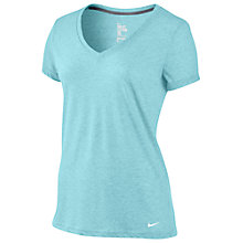 Buy Nike Loose Tri-Blend V Neck T-Shirt Online at johnlewis.com