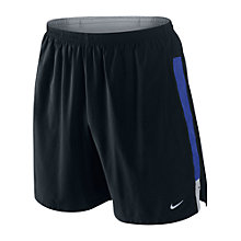 "Buy Nike Men's 7"" 2 In 1 Laser Running Shorts Online at johnlewis.com"