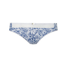 Buy Lovable Liberty Briefs, Blue/Ivory Online at johnlewis.com