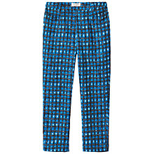 Buy Toast Lottie Printed Trousers, Moroccan Blue Online at johnlewis.com