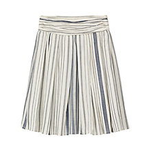 Buy Seasalt Tabitha Skirt, Indian Teal/White Online at johnlewis.com