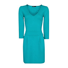 Buy Mango Tulip Skirt Dress, Emerald Green Online at johnlewis.com