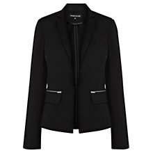 Buy Warehouse Sateen Jacket, Black Online at johnlewis.com