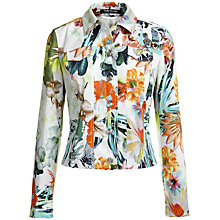 Buy Betty Barclay Floral Print Jacket, Multi Online at johnlewis.com