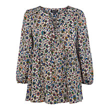 Buy Warehouse Folk Floral Top Online at johnlewis.com