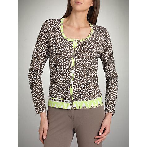 Buy Betty Barclay Animal Print Cardigan Online at johnlewis.com