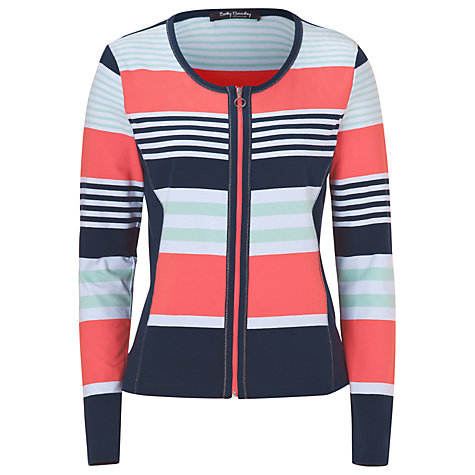 Buy Betty Barclay Striped Cardigan, Multi Online at johnlewis.com