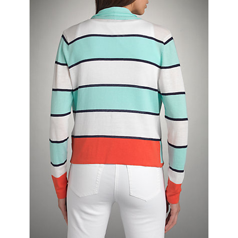 Buy Betty Barclay Striped Waterfall Cardigan, Multi Online at johnlewis.com