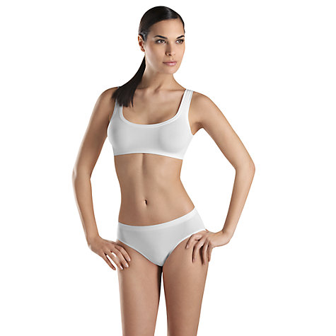 Buy Hanro Touch Feeling Microfibre Crop Top Online at johnlewis.com