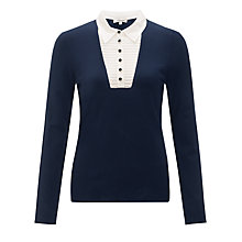 Buy Somerset by Alice Temperley 2in1 Insert Jumper, Navy Online at johnlewis.com