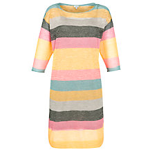 Buy Hoss Intropia Stripey Tunic Dress, Multi Online at johnlewis.com