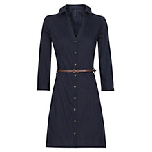 Buy Mango Shirt Dress, Navy Online at johnlewis.com