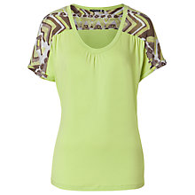 Buy Betty Barclay Printed Shoulder T-Shirt Online at johnlewis.com