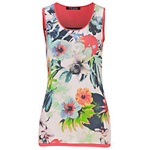 Buy Betty Barclay Floral Vest Top, Multi Online at johnlewis.com
