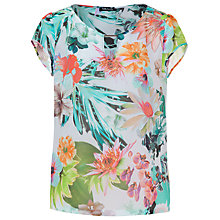 Buy Betty Barclay Tropical Print Top, Multi Online at johnlewis.com