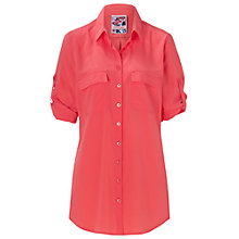 Buy Betty Barclay Long Blouse, Hot Coral Online at johnlewis.com