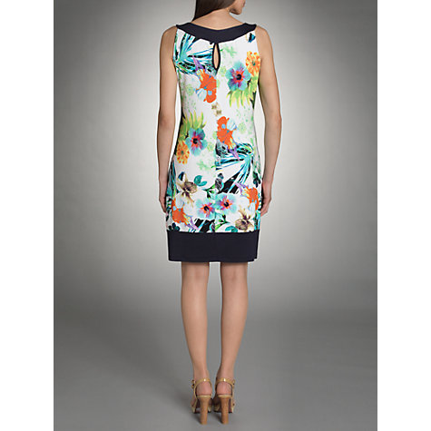 Buy Betty Barclay Tropical Dress, Multi Online at johnlewis.com