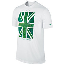 Buy Nike Tennis Grass Union Jack T-Shirt Online at johnlewis.com