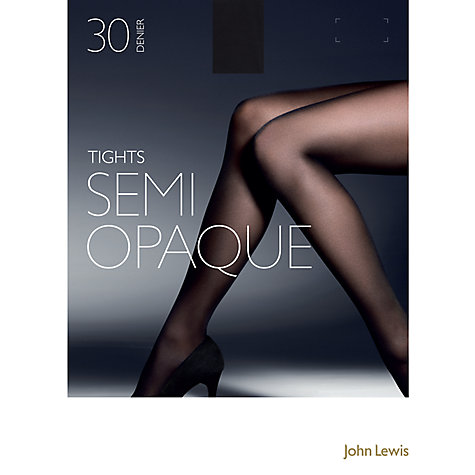 Buy John Lewis 30 Denier Semi Opaque Tights Online at johnlewis.com