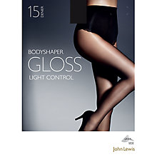 Buy John Lewis 15 Denier Gloss Body Shaper Tights Online at johnlewis.com