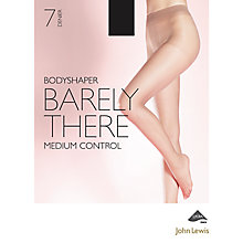 Buy John Lewis 7 Denier Barely There Shaper Tights, Black Online at johnlewis.com