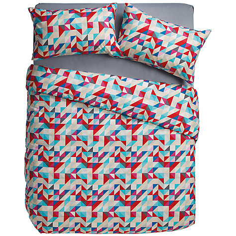 Buy House by John Lewis Mosaic Duvet Cover and Pillowcase Set Online at johnlewis.com