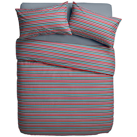 Buy House by John Lewis Stripe Duvet Cover and Pillowcase Set Online at johnlewis.com