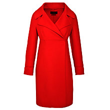 Buy Weekend by MaxMara Wool Double Faced Coat, Orange Online at johnlewis.com