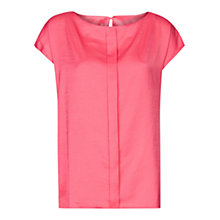 Buy Mango Pleated Loose Blouse Online at johnlewis.com