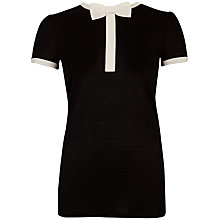 Buy Ted Baker Bow Neck Detail T-Shirt Online at johnlewis.com