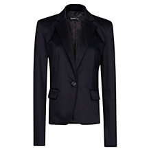 Buy Mango Tailored Blazer, Black Online at johnlewis.com
