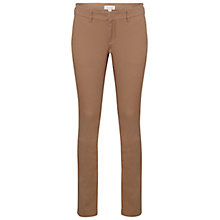 Buy White Stuff City Slicker Slim Line Trousers, Camel Online at johnlewis.com