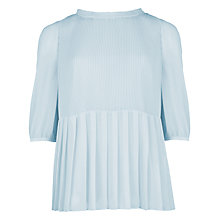 Buy Ted Baker Ninah Pleated Top Online at johnlewis.com