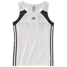 Buy Adidas Girl's Response Fit Tank Top Online at johnlewis.com