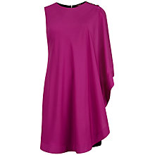 Buy Ted Baker One Sided Draped Tunic Dress, Fuchsia Online at johnlewis.com