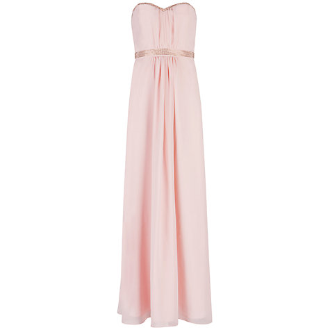 Buy Ted Baker Foelee Stud Maxi Dress, Pale Pink Online at johnlewis.com