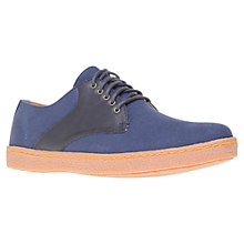 Buy KG by Kurt Geiger Chakka Canvas Derby Shoes Online at johnlewis.com