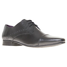 Buy KG by Kurt Geiger Jimmy Leather Derby Shoes Online at johnlewis.com
