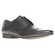 Buy KG by Kurt Geiger Kennedy Wingtip Leather Derby Shoes Online at johnlewis.com